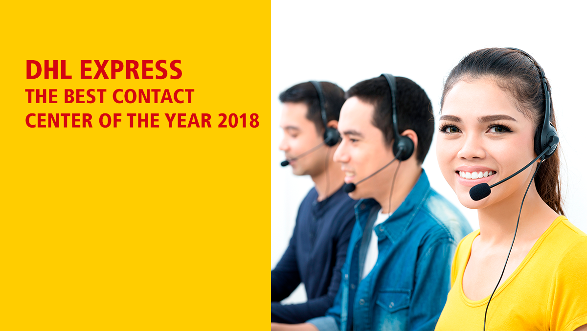 DHL Express: The Best Contact Center of the Year 2018