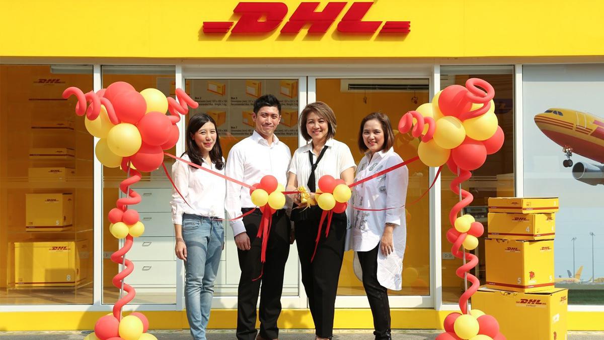 ดีเอชแอล เอ็กซ์เพรส เปิดเซอร์วิสพอยต์แห่งที่ 100 ในประเทศไทย