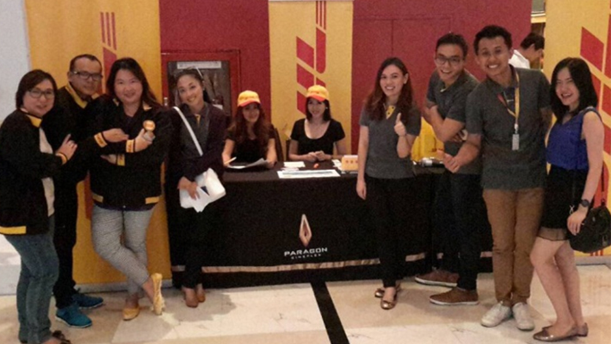 DHL HOSTS MOVIE EVENTS FOR CUSTOMERS.