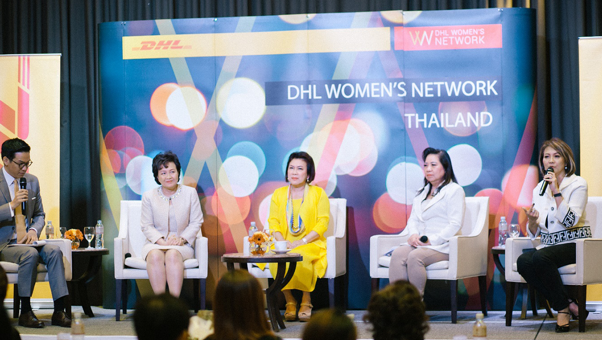 DHL hosts first-ever DHL Women's Network in Thailand, encouraging and empowering women to succeed
